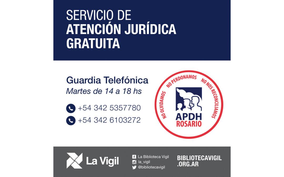 APDH – Servicio gratuito de orientación en asuntos jurídicos