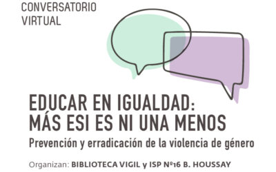 Diálogos Educativos: Más ESI es Ni una Menos